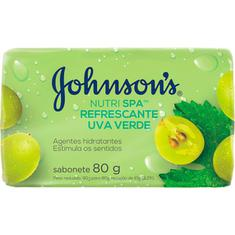 Sabonete em Barra Uva Verde Johnsons 80g