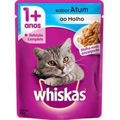 Alimento para Gatos Sabor Atum Whiskas 85g