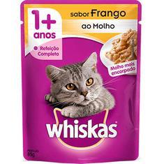 Alimento para Gatos Sabor Frango Whiskas 85g