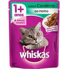 Alimento para Gatos Sabor Cordeiro Whiskas 85g