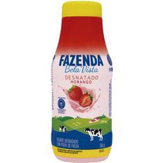 Iogurte Líquido Sabor Morango Fazenda Bela Vista 500g