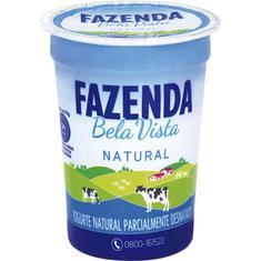 Iogurte Natural Fazenda Bela Vista 170g