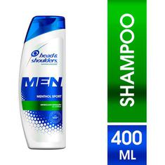 Shampoo Head & Shoulders Menthol Sport 400ml