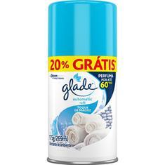 Purificador Aerossol Glade Toque de Maciez Refil 269ml 20%Desconto