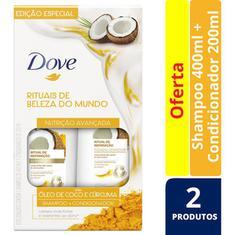 Kit Dove Ritual de Reparação Shampoo 400ml + Condicionador 200ml