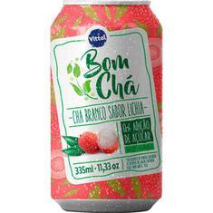 Chá Branco Sabor Lichia Vittal 335ml