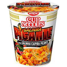 Macarrão Instantâneo Sabor Galinha Caipira Picante Cup Noodles Nissin 68g