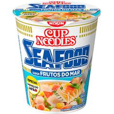 Macarrão Instantâneo Sabor Frutos do Mar Cup Noodles Nissin 65g