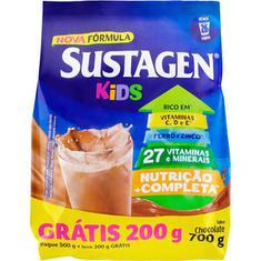 Suplemento Alimentar Kids Sabor Chocolate Sustagem Leve 700 Pague 500g
