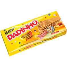 Biscoito Wafer Dadinho 130g