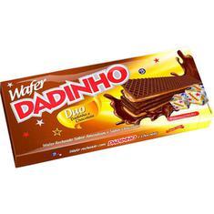 Biscoito Wafer Duo Dadinho 130g