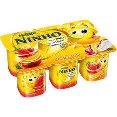Iogurte 3 Sabores Ninho Nestlé 540g
