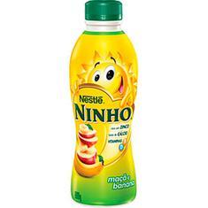 Iogurte sabor Maçã com Banana Ninho 850g