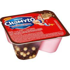 Bebida Láctea sabor Morango com Cereais de Chocolate Chamyto 130g
