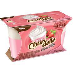 Sobremesa Láctea sabor Morango com Chantilly Chandelle 200g