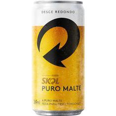 Cerveja Puro Malte Skol 269ml