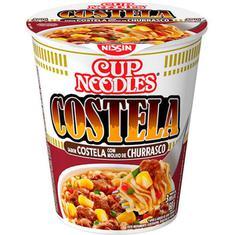 Macarrão Instantâneo Sabor Costela com Molho Churrasco Cup Noodles Nissin 68g