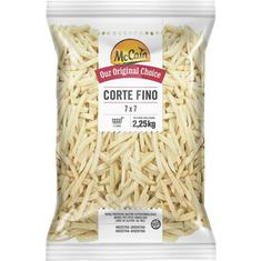 Batata Congelada Cortes Finos McCain 2,25kg