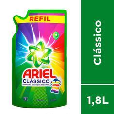 Lava Roupas Líquido Clássico Ariel 1,8L