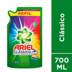 Lava Roupa Líquido Refil Clássico Ariel 700ml