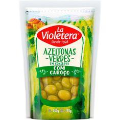 Azeitona Verde com Caroço La Violetera 150g