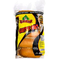 Pão para Hot Dog Super De La Marie 650g