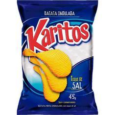 Batata Chips Tradicional Karitos 40g