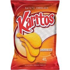 Batata Chips Churrasco Karitos 40g