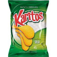 Batata Chips Cebola e Salsa Karitos 40g