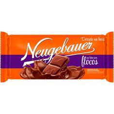 Chocolate Tablete ao Leite com Flocos Neugebauer 90g