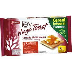 Torrada Cereais Magic Toast Marilan 150g
