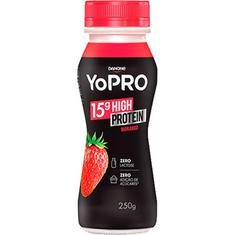 Iogurte sabor Morango YoPRO Danone 250g