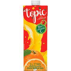 Bebida de Fruta Laranja e Maçã Topic 1L
