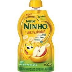 Iogurte Maçã Banana Pouch Ninho 100g