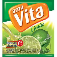 Refresco em Pó Sabor Limão AmaVita 35g