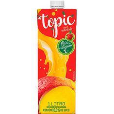 Bebida de Fruta Manga e Maçã Topic 1L