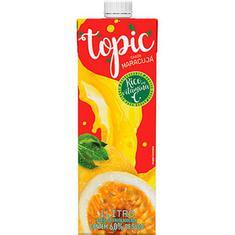 Bebida de Fruta Maracujá e Maçã Topic 1L