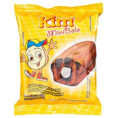 Mini Bolo Chocolate com Baunilha Kim 80g