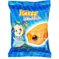 Mini Bolo Baunilha com Chocolate Kim 80g