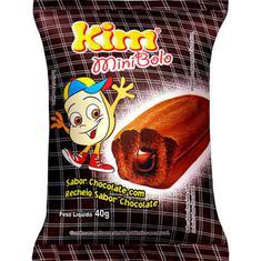 Mini Bolo Chocolate com Chocolate Kim 80g