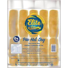 Pão de Hot Dog Elite Pan 900g