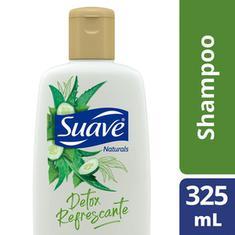 Shampoo Refrescante Detox Babosa e Pepino Suave 325ml