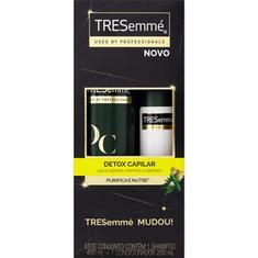 Kit Shampoo+Condicionador Detox Capilar Tresemmé 400ml
