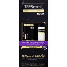 Kit Shampoo+Condicionador Reconstrução e Força Tresemmé 400ml