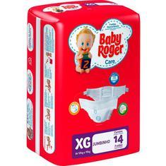 Fralda Jumbinho Care Baby Roger XG 14un