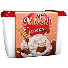 Sorvete Flocos Nobrelli 1,5L