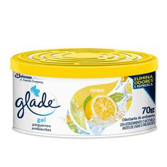 Desodorizador Gel Pequenos Ambientes Cítrus Glade 70g