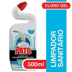 Limpador Sanitário Cloro Gel Ativo Marine Pato 500ml
