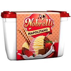Sorvete Napolitano Nobrelli 1,5L