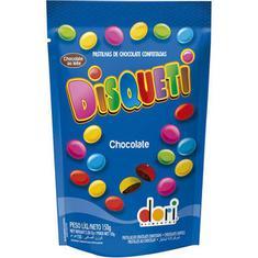 Confeito Disquete Chocolate Sachê Dori 150g